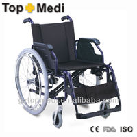 Best selling European style wheelchair with 9 different seat choice,aluminum wheelchair FS955L