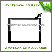 Wholesale Mobile Phone Touch Screen For iPad 2 Digitizer Assembly with Frame Replacement Pats