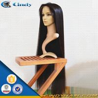 world celebrity black real indian remy natural very long hair wigs for women