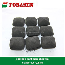 Pillow bamboo Charcoal briquette for barbecue