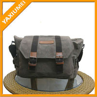 vintage style canvas korea camera bag