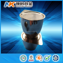 Competitive price high purity 99.95% platinum crucible 200ml for Laboratory
