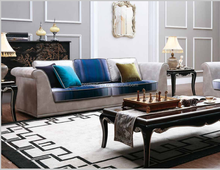 Classic french style furniture design chesterfield living room fabric lounge sofa