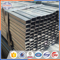 Cheap hot sale top quality Tianjin galvanized rectangular steel pipe Chinese products