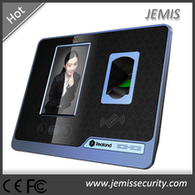 4.3'' colorful TFT touch screen network TCP/IP RFID biometric fingerprint face recognition access control built in WIFI module