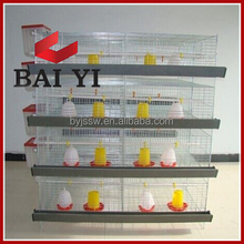 Galvanized Welded Wire Small Chicken Cage For California