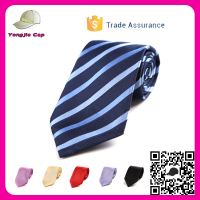 Design your own Factory Direct Custom Silk Woven neck tie Stripe Promotional Gift custom necktie