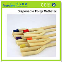 single use well-sold latex foley ureter catheter to India