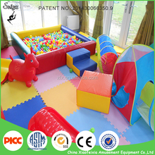 Customized Size Indoor Kids Soft Play Ball Pit