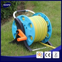 1/2 inch 20m durable retractable garden water hose reel plastic product price