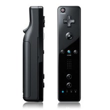 Black Remote Controller for Wii(Black)