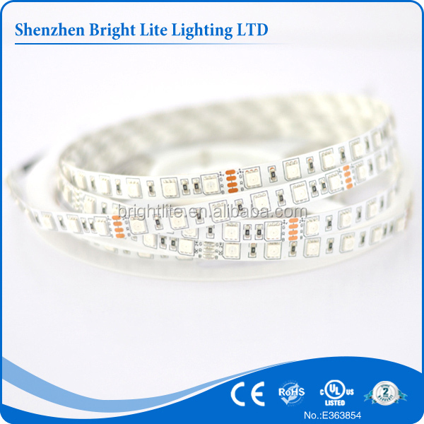5050 Nonwaterproof IP20 RGB 120led UL certificate 5050 led strip