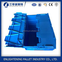 Hot sale foldable plastic pack or box plastic