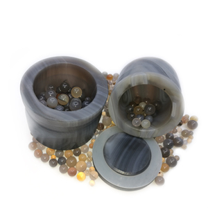 50ml to 1000ml Lab Agate Ball Mill Jar