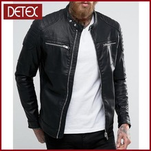 Models Pakistan Pure Leather Jackets For Men In Black