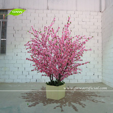 GNW 1.5m HOT 2016 NEW pmlastic Cherry Blossom Tree for home office decoration