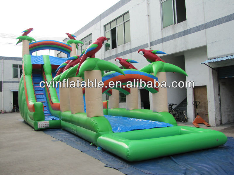 Hot Selling Big Inflatable Water Slide