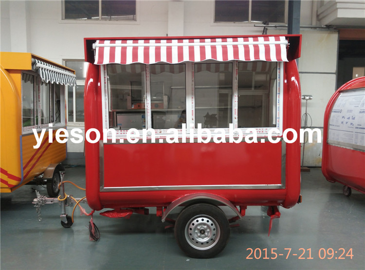 YS-FV230A Yieson High Quality ice cream bicycle for sale mobile kitchen