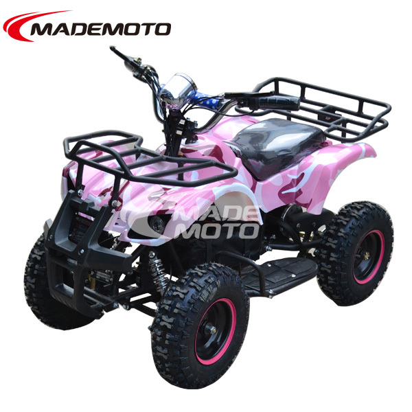 CE Approved Kids Electric Buggy Quad ATV with Camo Print Color