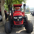 Turf tyre tractor