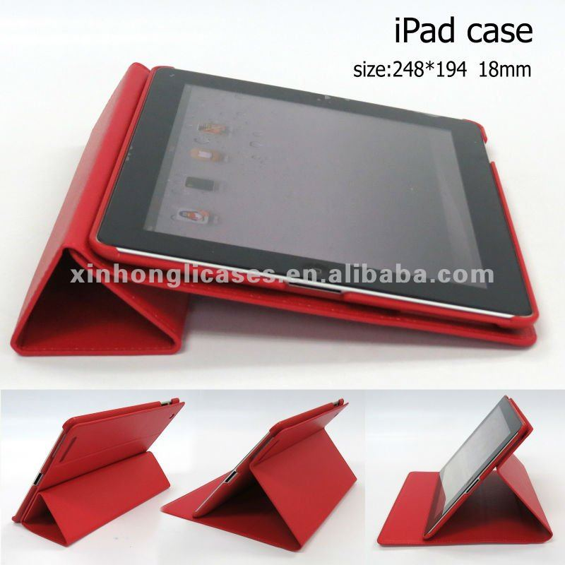 leather materials cover Smart cover in classic comfort,selling hot for Ipad