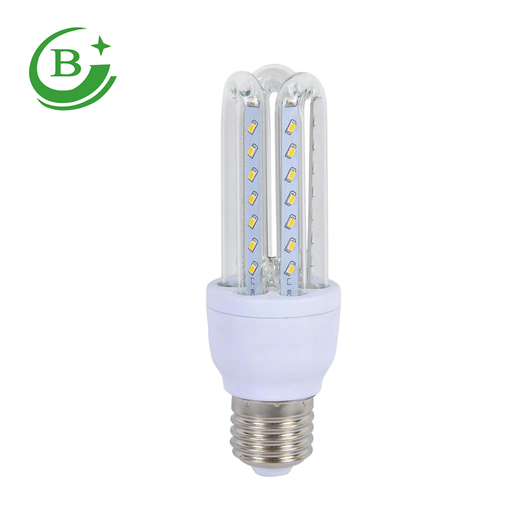 China manufacturing 3U 7w e27 b22 led corn bulb