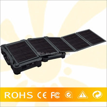 Boat Caravan Solar Panels Foldable Solar Panel Power System With Batteries