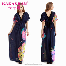 Wholesale Kaftan Beach Dress Gypsy Boho Maxi Dresses