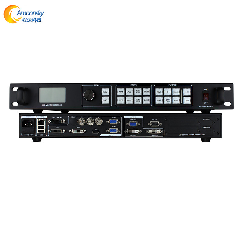high quality <strong>HD</strong> small pixel p1.875 p2 p2.5 led display max support 3840*640 hdmi video wall <strong>quad</strong> video processor