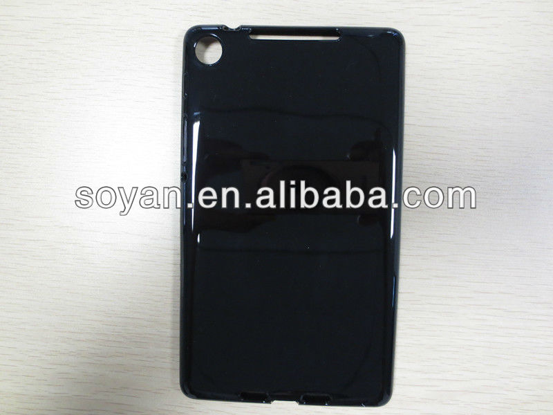 For Google Nexus 7 2nd generation TPU case, Soft and Matte TPU back cover for Google Nexus 7 second 2013