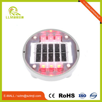 Perfect Quality active lighting LEDs 6 led solar power stud