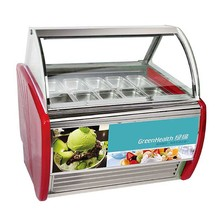 12 pan stand floor ice cream freezer display italian gelato display cases gelato display showcase