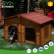 All Weather Wooden Dog House Kit Large Insulated Dog kennel for Sale