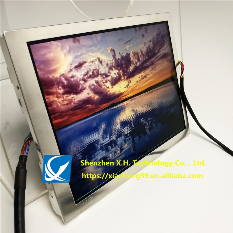 AUO VGA ptronics G065VN01 V2 with high brightness 800nits sunlight readabl 6.5 inch TFT LCD touch Display Module