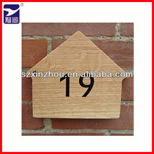 new design hanging wooden house sign board