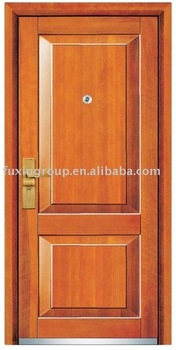 Fusim steel Wooden Door