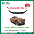 For 16 2016 17 2017 FORD RANGER PX BONNET PROTECTOR & WEATHER SHIELDS