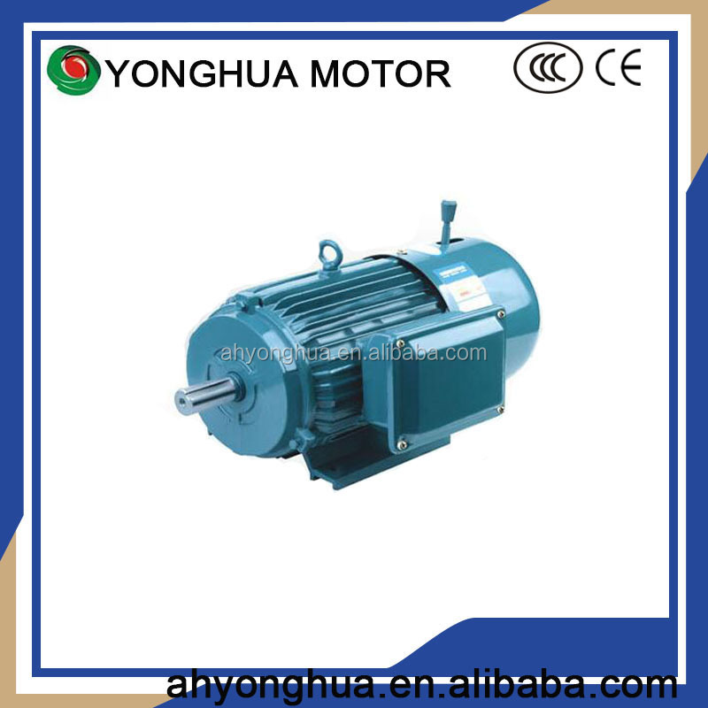 Magnetic Electric Motor YEJ160L-4p 20hp Sewing Machine Motor