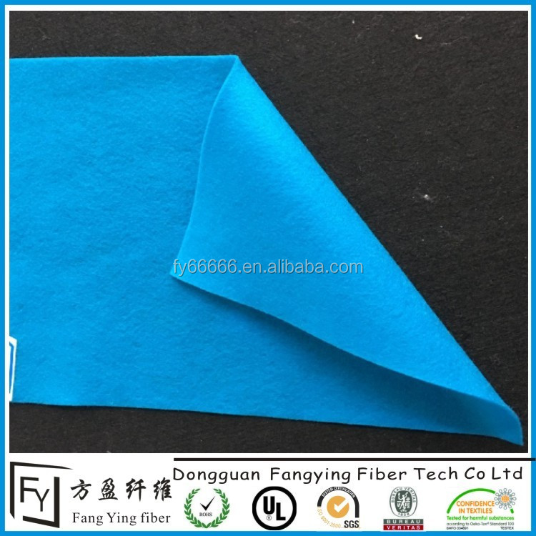 DIY Polyester Felt 50 Pcs 10x10cm/4x4inch, About 1.5mm Thick