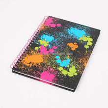 custom school spiral loose notebook hardcover a5 spiral notebook