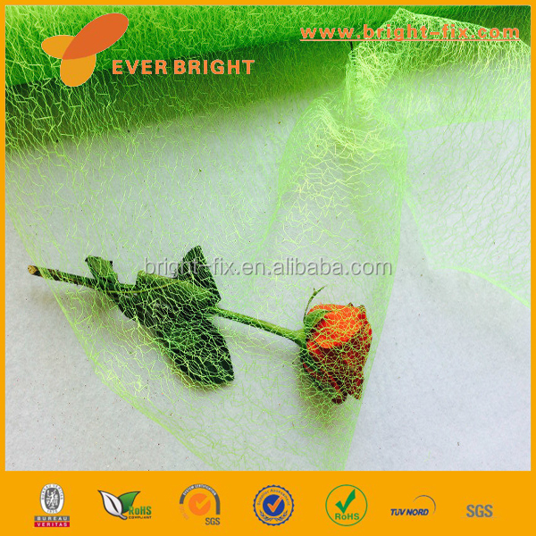 china suppliers fabric Wrapping Material Decorative Flower Mesh,mess mesh