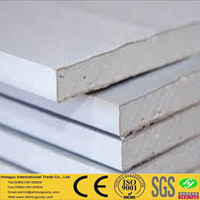 fireproof & soundproof gypsum board wall partition factory price