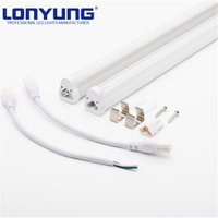 Indoor led light t5 aluminum fluorescent light T5 integrated led tube 1500mm 5ft 1200mm 4ft 15w20w