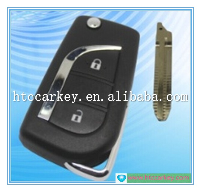 Top quality key case or cover for Toyota 2 Button Camry ,Corolla,RAV4 Before 2013 Remote Control 315MHZ Car Key Shell