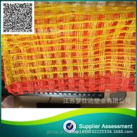 Orange road safety nets Fence warning road warning net fence netting