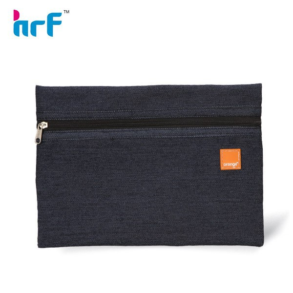 2013 Large Plain Denim Pencil Case for Teenagers