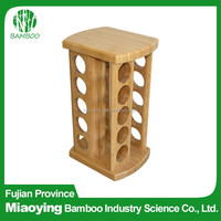 Wholesale Decorative Bamboo Spice Rack