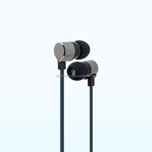 Water-drop shaped ear cover earphone with bass sound quality with flat cable