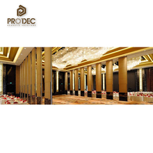 New design professional acoustic moveable proof partition wall for hotel