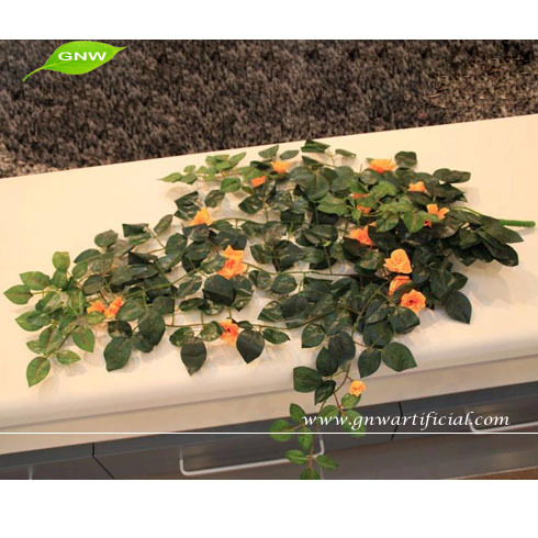 GNW FLV21 Artificial Hanging Rose Flowers Vine used on the wall decoration